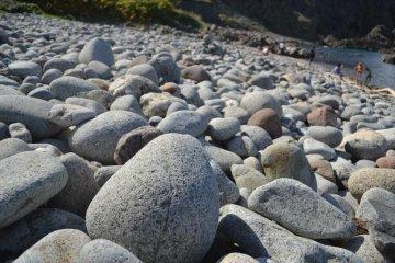 바위가 많은 해변