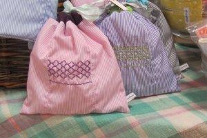 ถุงผ้าแบบง่ายๆ ไว้จัดของเป็นสัดเป็นส่วน