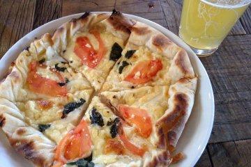 Margarita Pizza & Yuzu White