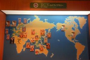 Conan trên khắp thế giới