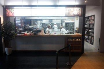 The open kitchen where the magic happens