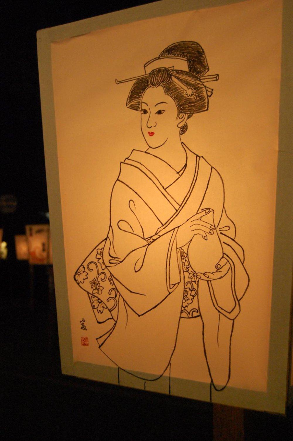 Illuminous Geisha