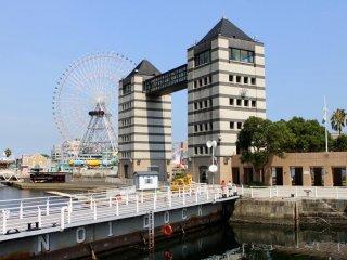 Yokohama's Great Wheel and Towers
