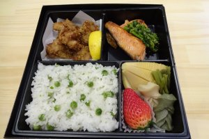 Delicious halal Kappo lunch box from Mabruk