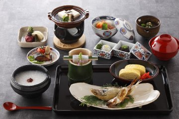 Japanese-Style Breakfast - Nishimuraya Honkan