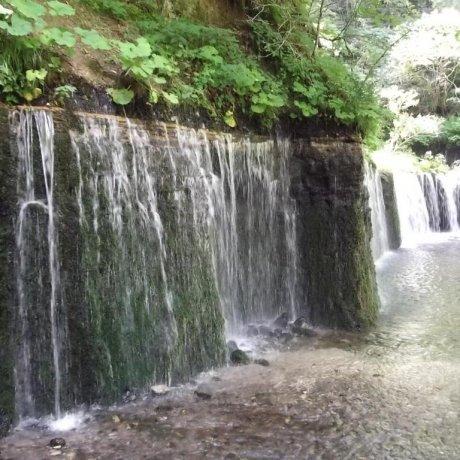 Shiraito Falls, Karuizawa