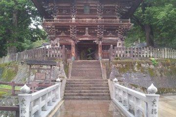 Bishamondo Temple in Urasa