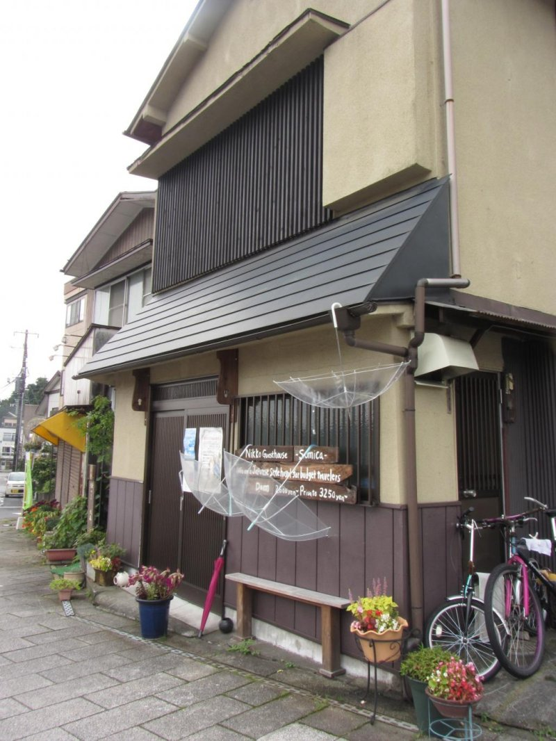 Nikko Guesthouse Sumica on a rainy day