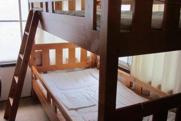 Dormitory style room