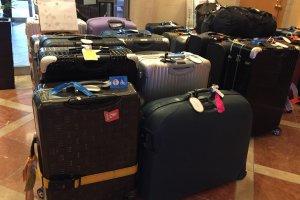 เก็บกระเป๋าใหญ่ไว้ที่โรงแรม