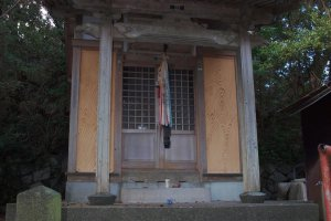 A hidden shrine