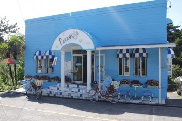 Paradise: a place to relax and have an ice-cream