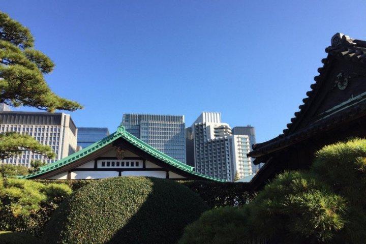 Kokyo Higashi Gyoen à Tokyo
