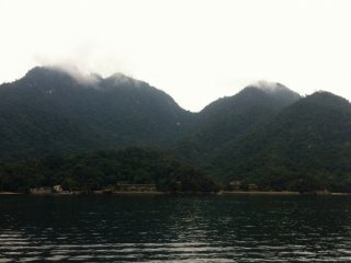 Miyajima, the mountainous island