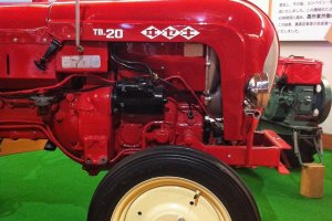 One of Iseki's tractors