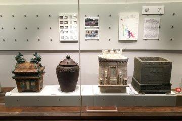 Okinawan pottery artifacts