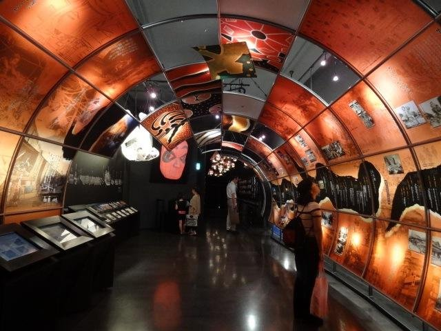 Learn the history of Nebuta in this hallway.