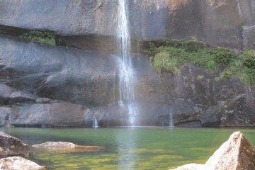 Водопад Дзянотаки (на 3-ий день пути)