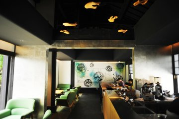Zen Kashoin's tea shop