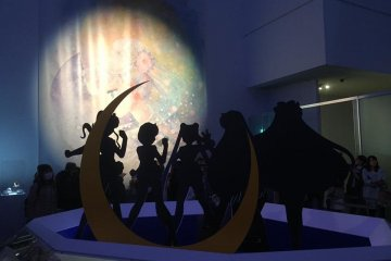 Sailor Moon di Museum Seni Mori