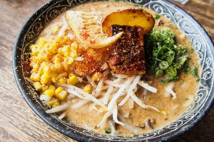 Ramen Vegan di Kyoto