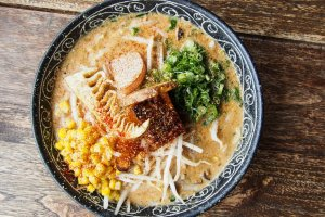 Vegan ramen at Vegans Cafe and Restaurant