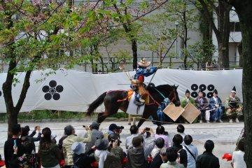 Tir à l'Arc Yabusame au Parc Sumida