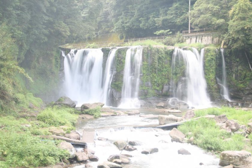 The first waterfall