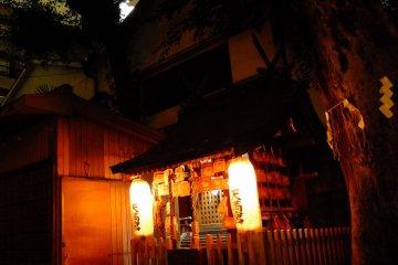 a quiet Setsumatsusha, or undershrine