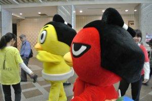 Sumo mascots