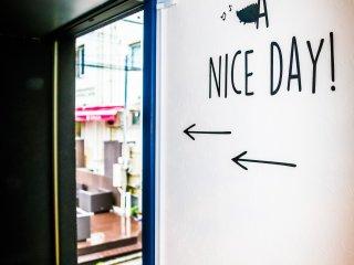 Pintu keluar, have a nice day!