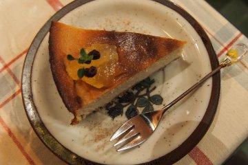 르 코꼴레의 두부 치즈케이크