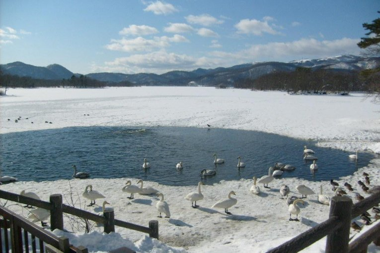Winter at Lake Onuma