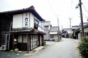 Kawasaki quarter in Ise town