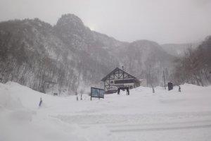 Stasiun kereta gantung Kurodake.