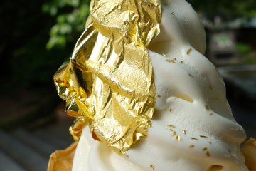 Gold is the new soft-serve flavour of the month