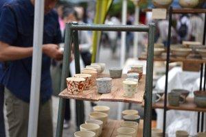 Array of beautiful ceramics