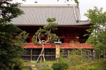 El templo Kiyomizu Kanodo.