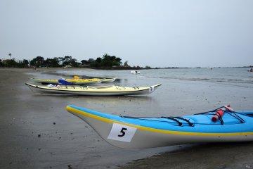 Tiwal Japan in Hayama's Kayak Race