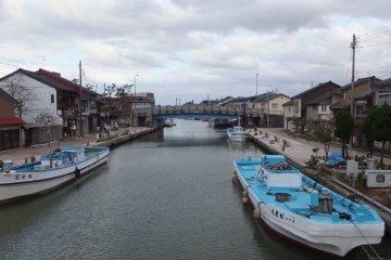 Canal Uchikawa desde el puente