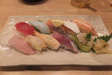 Sushi de Toyama