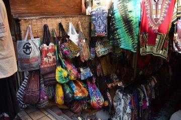 Bohemian clothing store