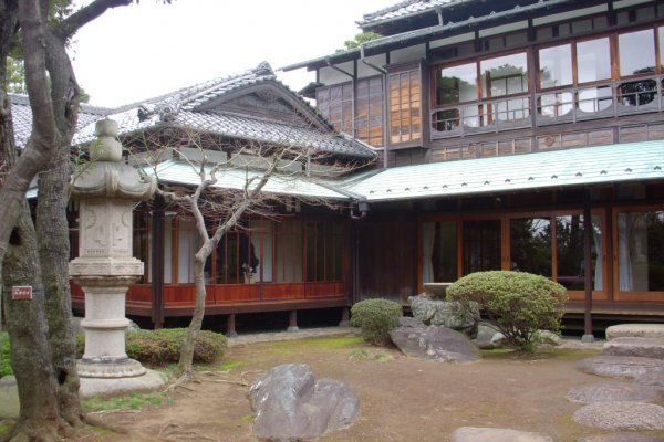 Kyu Asakura House and garden is a great place to step back in time