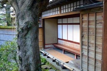 Veranda-like porch of a Samurai Family Residence