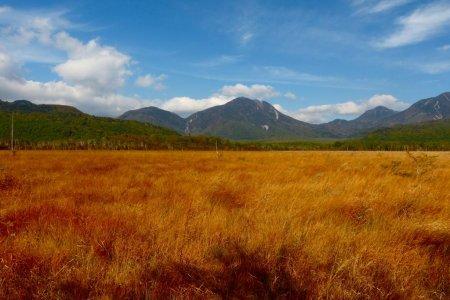 Vùng đầm lầy Senjo-ga-hara vào mùa thu