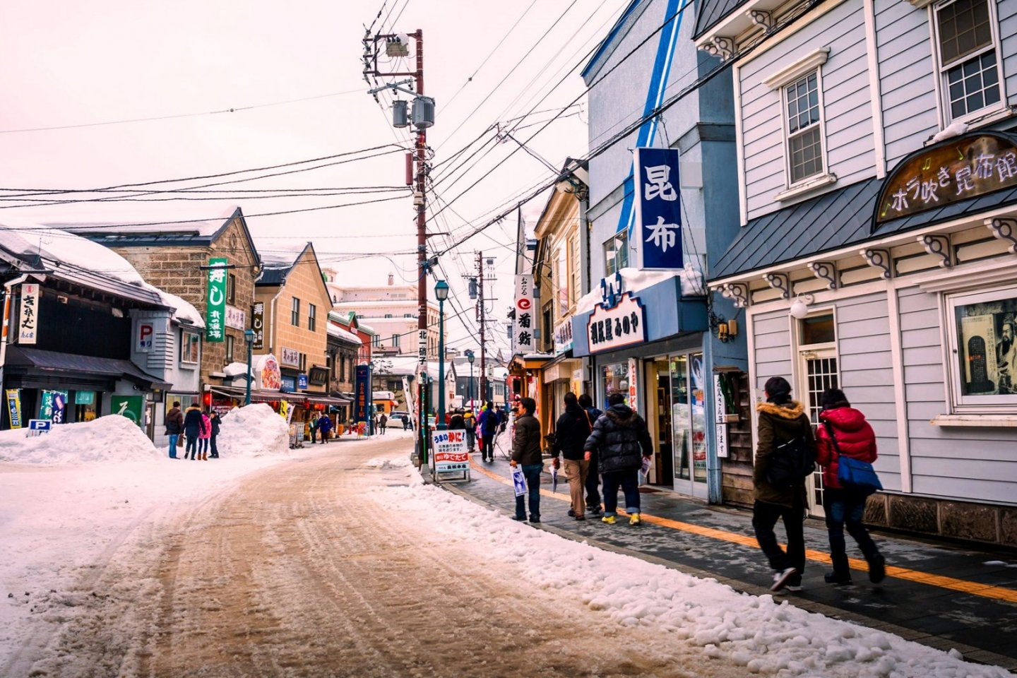 Otaru is a mixture of a frontier port, retro warehouses and artisan chic