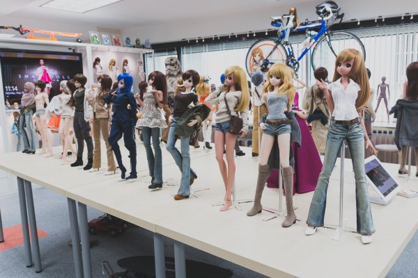 Muñecas completamente personalizables.