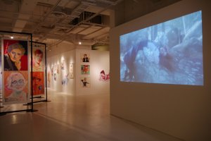 Hyper! Harumi Girls! in PARCO Museum consists of both film and print