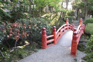 Detail of the bridge