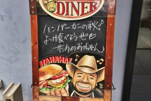 The caricature actually does resemble the owner